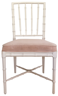 Faux Bamboo Chinese Chippendale Chairs - Set of 4 | Chairish