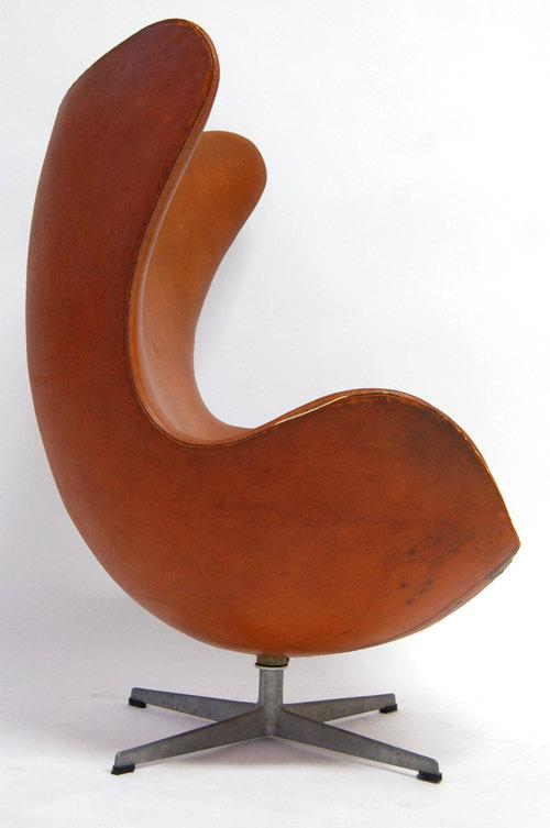 Original Arne Jacobsen for Fritz Hansen Egg Chair  Chairish
