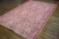 Pink Overdyed Oushak Rug - 62  91 | Chairish