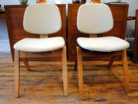 Mid-Century Thonet Chairs by Joe Atkinson - a Pair | Chairish