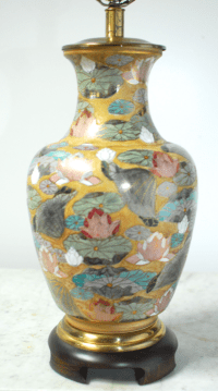 Frederick Cooper Porcelain Ginger Jar Table Lamp