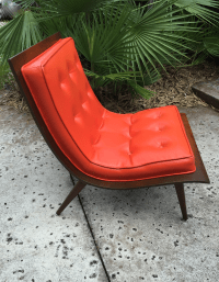 "Mid Century Modern ""Scoop"" Chair 