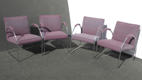 Patrician Furniture Co. Chrome Chairs - Set of 4 | Chairish