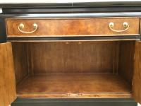 Chin Hua Century Furniture Rolling Bar Cabinet | Chairish