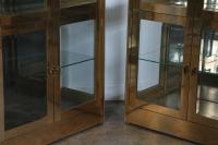 Mastercraft Brass Cabinet | Chairish