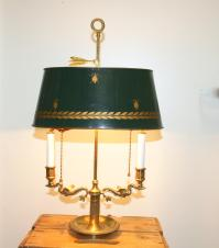 Vintage French Bouillotte Lamp | Chairish