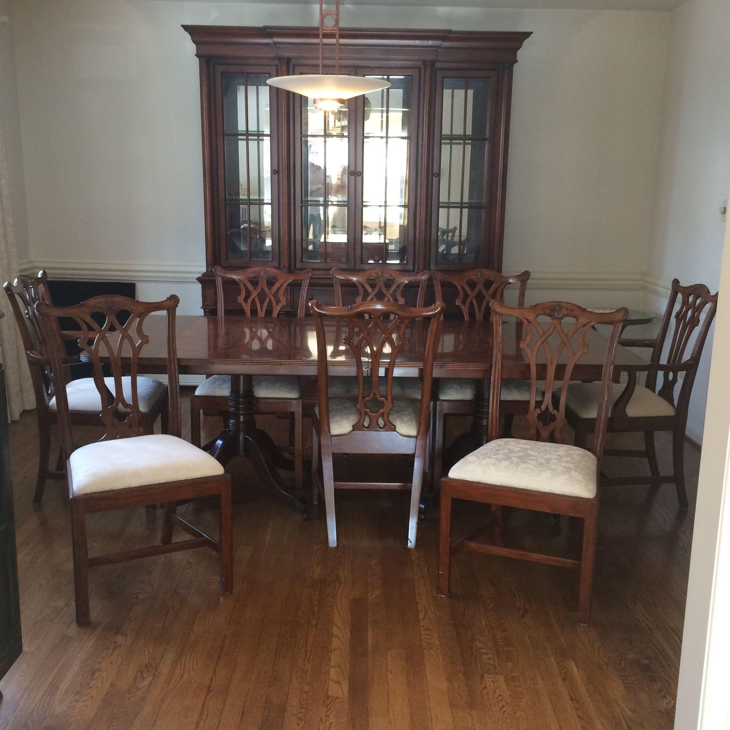 Tradtional Random Harvest Dining Room Set  Chairish