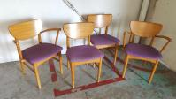 Milo Baughman for Drexel Mid-Century Dining Chairs - Set ...