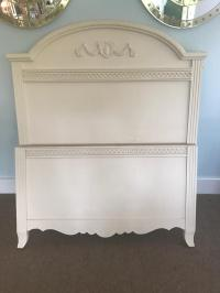Shabby Chic Farmhouse French Twin Bed Frame Lexington ...