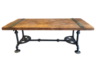 Steampunk Coffee Table | Chairish
