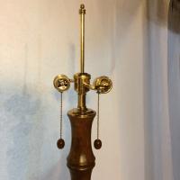 Tyndale Boho Chic Floor Lamp | Chairish