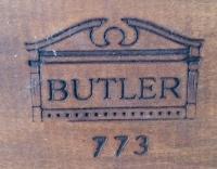Butler Co. Mid-Century Maple Three-Tiered Magazine Rack ...