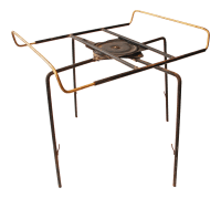 Mid Century Modern Lazy Susan Revolving Table Base   Chairish