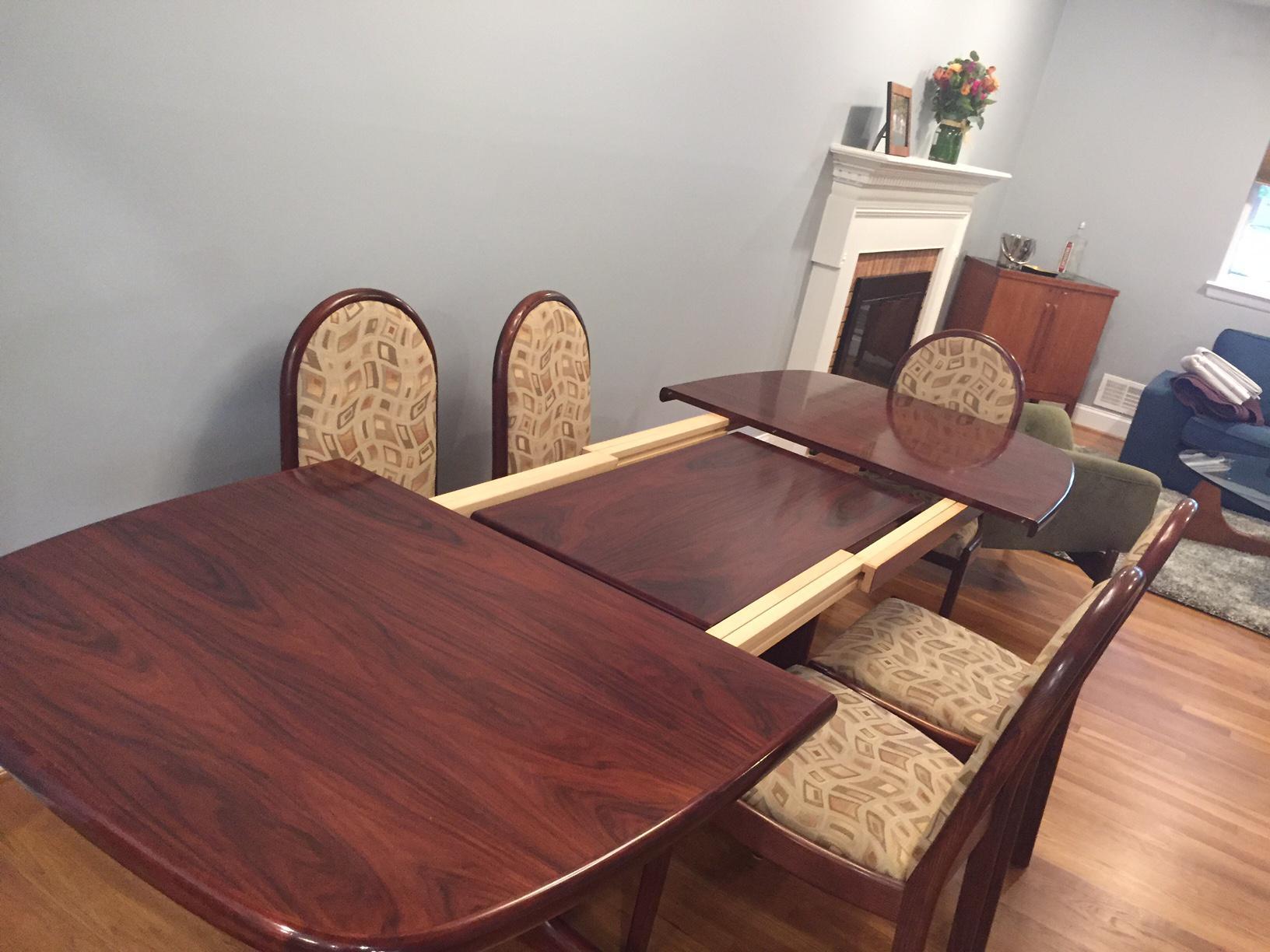 skovby rosewood dining chairs gander mountain set | chairish