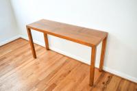 Mid-Century Vintage Lane Sofa Console Table | Chairish