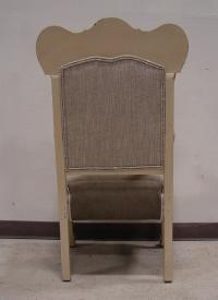 Vintage Antique Victorian Upholstered Chair | Chairish