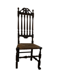 Gothic Revival Highback Chair | Chairish