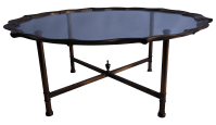 Mastercraft Style Coffee Table | Chairish