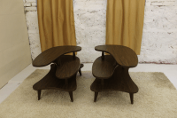 Mid-Century Coffee Table & End Tables - Set of 3   Chairish