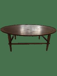 Vintage Lane Furniture 1955 Round Coffee Table   Chairish