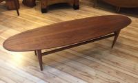 Heritage Mid-Century Surfboard Coffee Table | Chairish