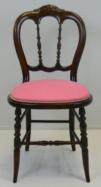 Antique Vanity Chair | Chairish
