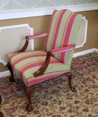 Martha Washington Mahogany Chippendale Style Southwood ...