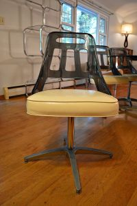 Mid-Century Lucite & Smoked Glass Table & Chairs | Chairish