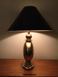 Vintage Hollywood Regency Stiffel Brass Lamp