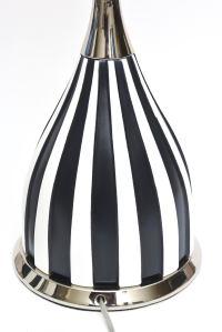 Distinguished Pair of Mid Century Black and White Ceramic ...