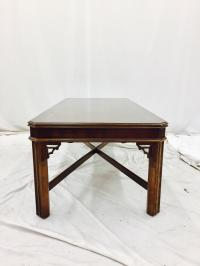 Vintage Lane Chinese Chippendale Coffee Table | Chairish