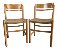 Vintage Mid-Century Modern Danish Style Dining Chairs (A ...
