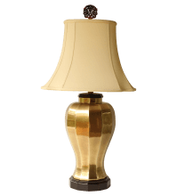 Frederick Cooper Brass Table Lamp | Chairish