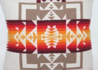 Pendleton Wool Pillow | Chairish