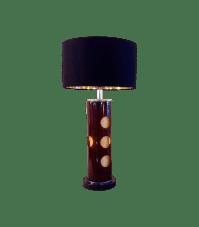 60's Funky Acrylic Base Table Lamp