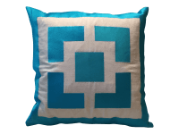 Trina Turk Palm Springs Blocks Turquoise Pillow