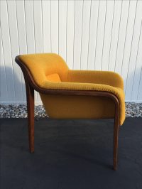 Knoll Bill Stephens Bentwood Lounge Chair