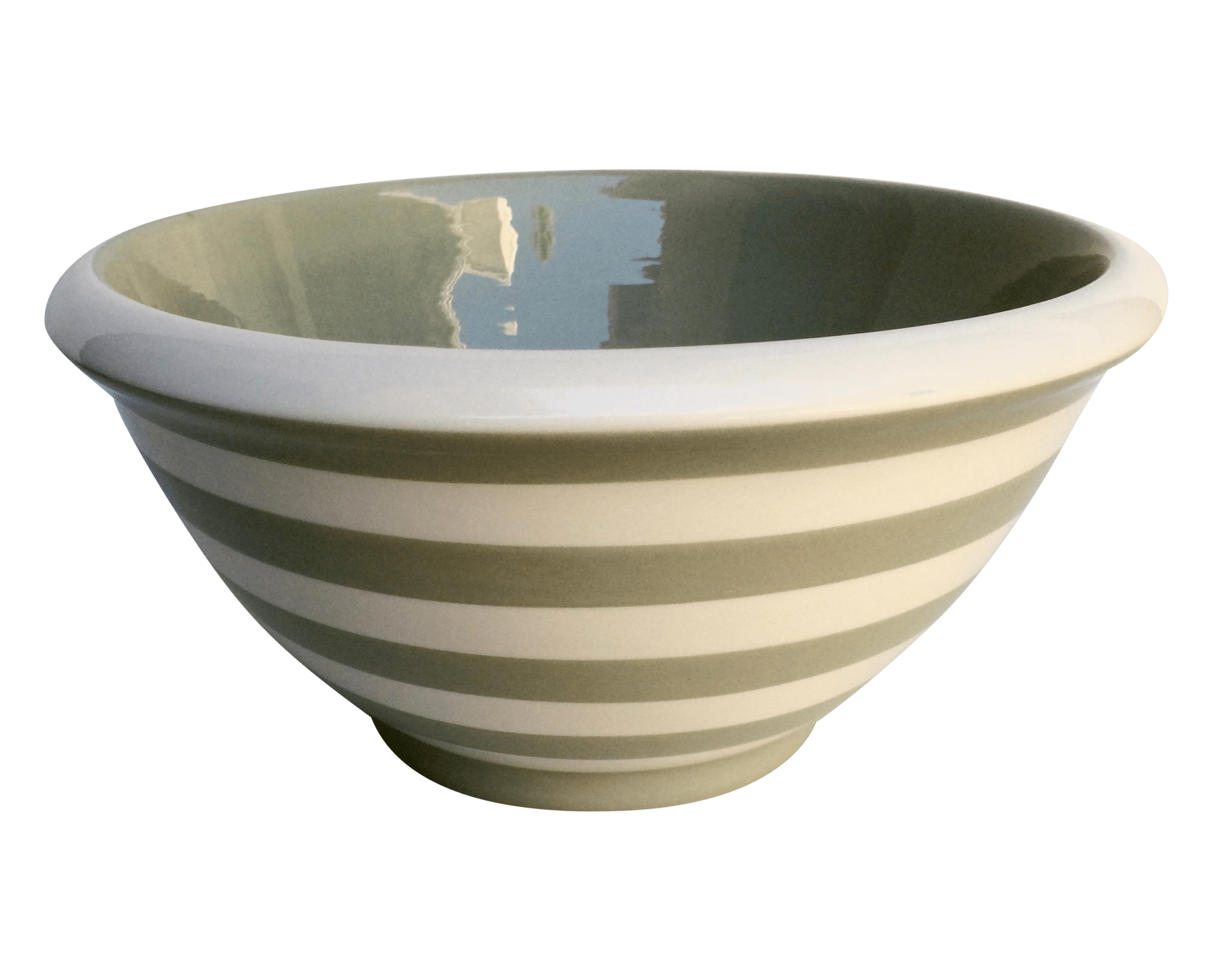 Terramoto Striped Mixing Bowl