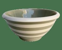 Terramoto Striped Mixing Bowl | Chairish