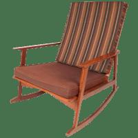 Mid-Century Modern Rocking Chair | Chairish