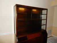 Mid-Century Glass Front China Display Cabinet | Chairish
