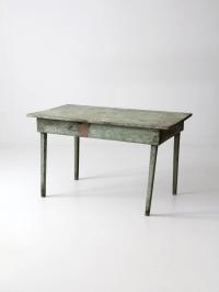 American Primitive Kitchen Table   Chairish