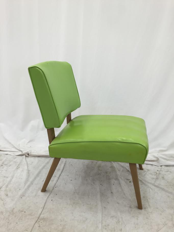 Vintage MidCentury Modern Slipper Side Chair  Chairish