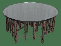 Paul Evans Brutalist Coffee Table   Chairish