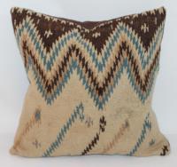 Navajo Weaving Pillow | Chairish