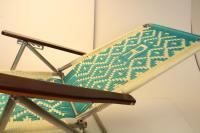 Mid-Century Modern Aluminum Folding Chaise Lounge Chairs ...