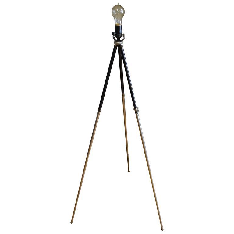 Photographer's Tripod Table of Floor Lamp