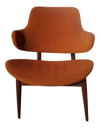 Mid-Century Modern Accent Chair | Chairish