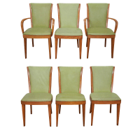 Vintage & Used Green Dining Chairs | Chairish