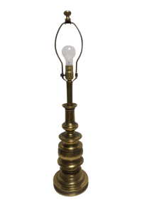 Vintage Stiffel Brass Lamp | Chairish